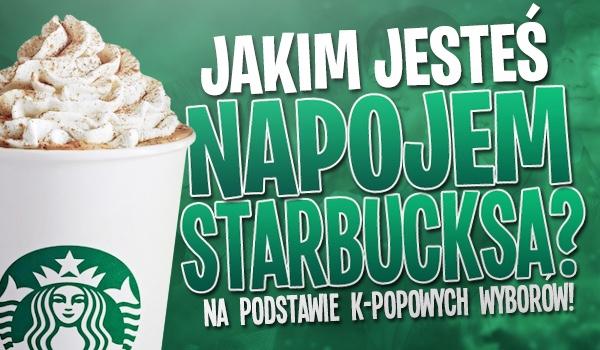 Jakim napojem Starbucks'a jesteś? – Na podstawie Twoich k-popowych wyborów!