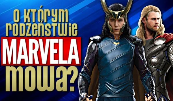 O którym rodzeństwie z Marvela mowa?