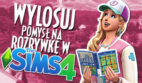 Wylosuj pomysł na rozrywkę w The Sims 4!