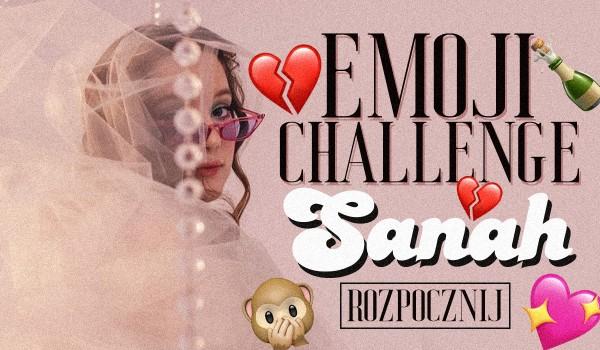 Emoji challenge – Sanah!