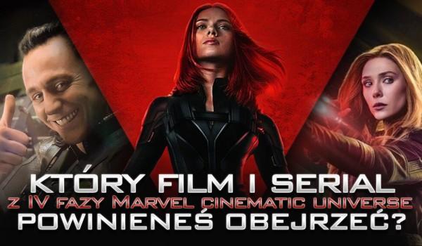 """Który film i serial z IV fazy """"Marvel Cinematic Universe"""" powinieneś obejrzeć? – Zdrapka!"""