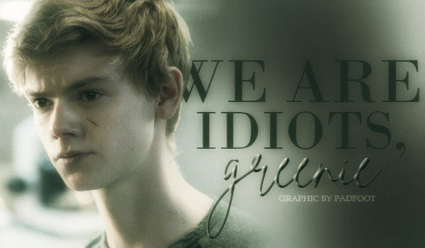 WE ARE IDIOTS, GREENIE — prologue