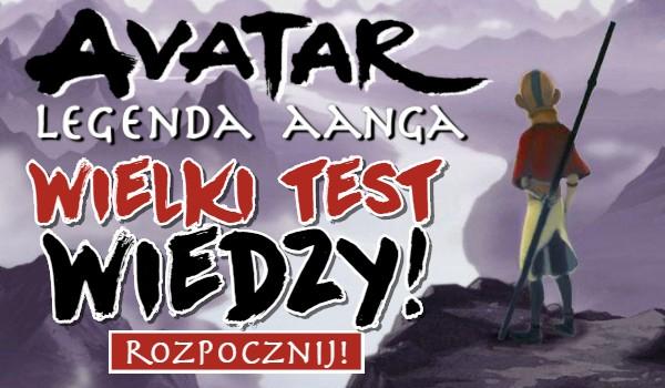 Avatar: Legenda Aanga – wielki test wiedzy!