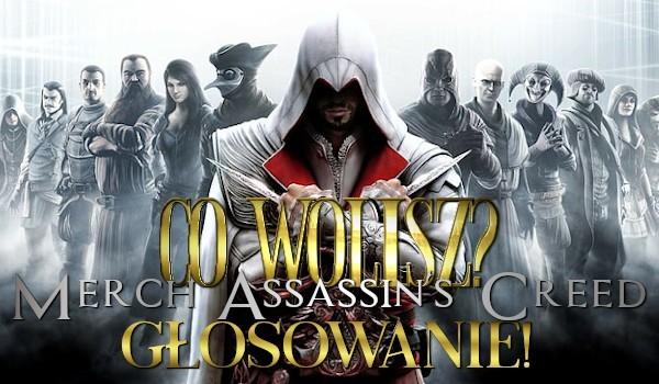 Co wolisz? Assassin's Creed merch!