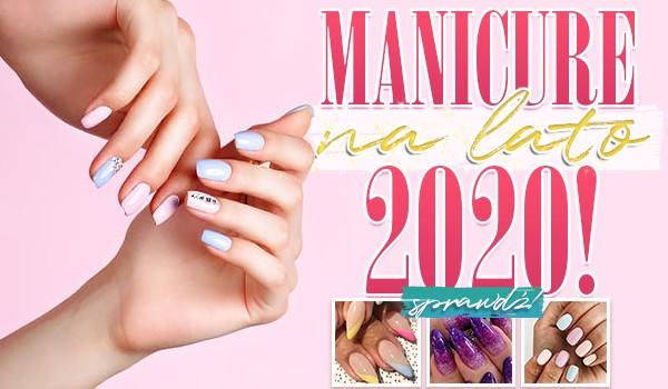 Manicure na lato 2020.