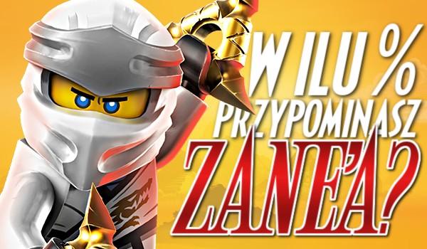 W ilu % przypominasz Zane'a?