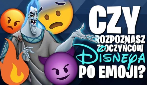 Czy rozpoznasz złoczyńców Disney'a po emoji?