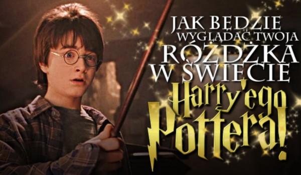 Zdrap i sprawdź, jak będzie wyglądać Twoja różdżka w świecie Harry'ego Pottera!