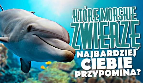Które morskie zwierzę najbardziej Ciebie przypomina?