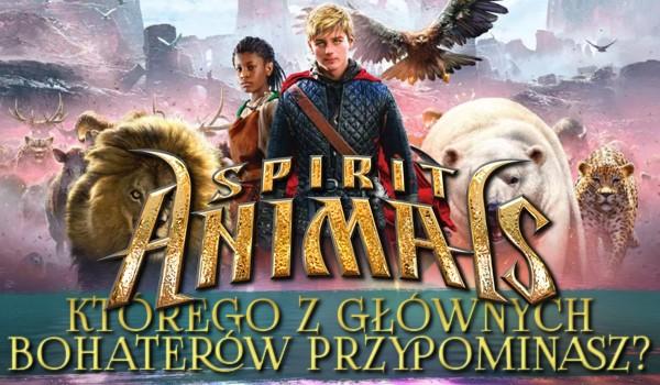 """Którego z głównych bohaterów """"Sprit Animals"""" przypominasz?"""