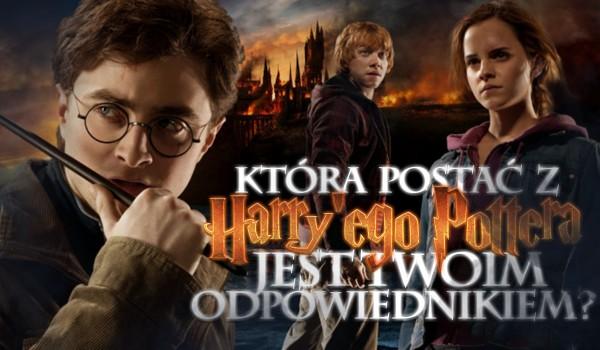 """Która postać z """"Harry'ego Pottera"""" jest Twoim odpowiednikiem?"""