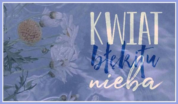 kwiat błękitu nieba