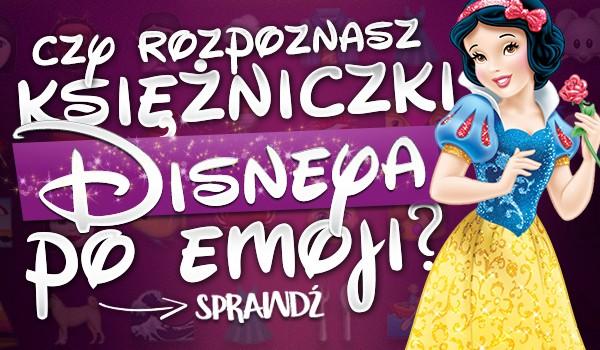 Czy rozpoznasz księżniczki Disneya po emoji?