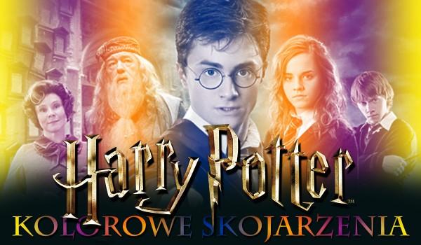 Kolorowe skojarzenia – Harry Potter!