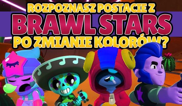 Czy rozpoznasz postacie z gry Brawl Stars po zmianie kolorów?