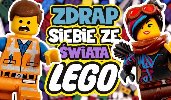 Zdrap siebie ze świata Lego!