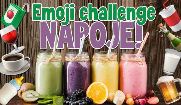 Emoji challenge: Napoje!