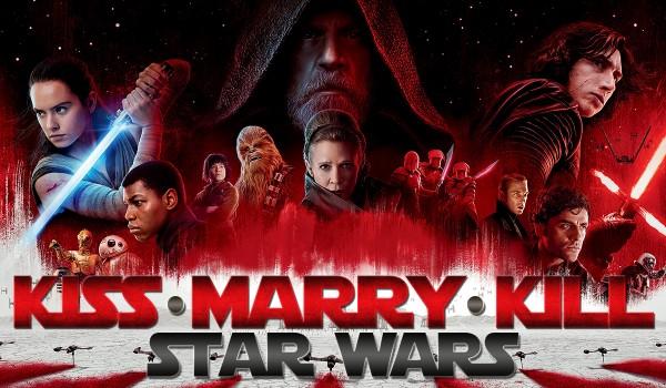 """Kiss, Marry, Kill – postacie z """"Gwiezdnych Wojen""""!"""