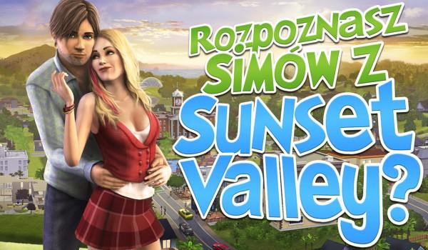 Czy rozpoznasz Simów z Sunset Valley?