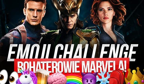 Emoji Challenge: Bohaterowie Marvela