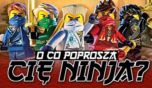 O co poproszą Cię ninja?