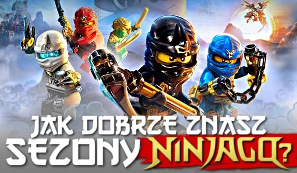Jak dobrze znasz sezony LEGO Ninjago?