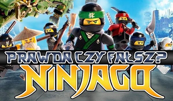 Prawda czy fałsz? LEGO Ninjago!