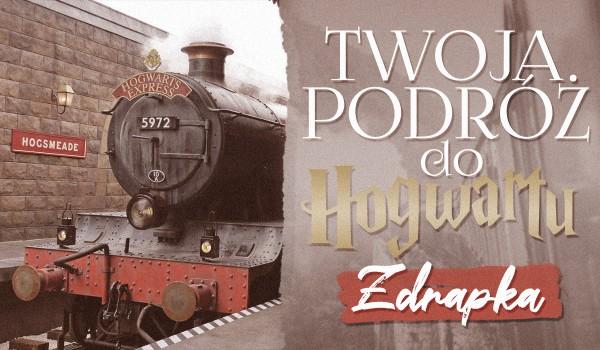 Twoja podróż do Hogwartu – zdrapka