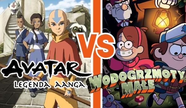 """""""Awatar: Legenda Aanga"""" vs. """"Wodogrzmoty Małe""""!"""