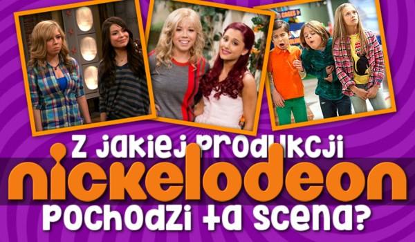 Z jakiej produkcji Nickelodeon pochodzi ta scena?