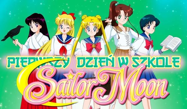 """Pierwszy dzień w szkole """"Sailor Moon""""! – Zdrapka"""