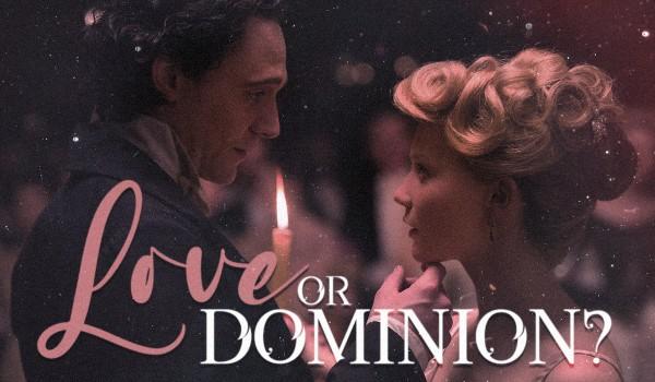Love or dominion? |Prolog| Loki Laufeyson