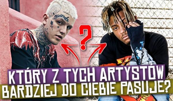 Lil Peep czy Juice WRLD. Który z tych artystów bardziej do Ciebie pasuje?