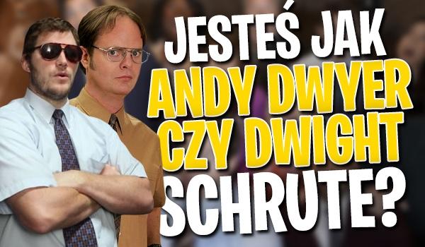 Jesteś jak Andy Dwyer czy Dwight Schrute?