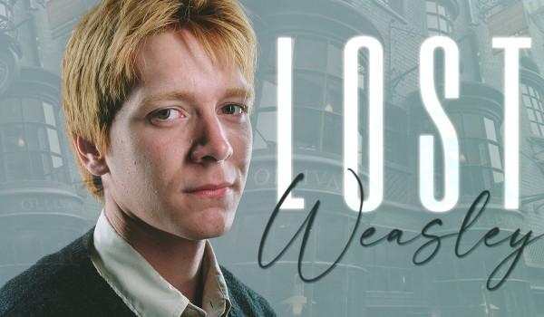 Lost Weasley • Prolog