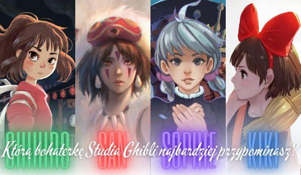 Którą bohaterkę z filmów Studia Ghibli najbardziej przypominasz – Chihiro, San, Sophie czy Kiki?