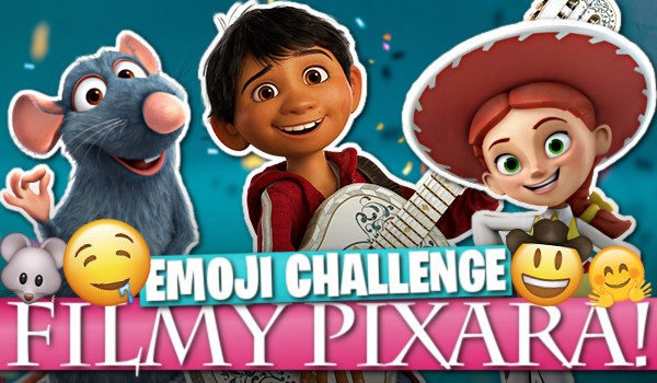 Emoji challange: Filmy Pixara