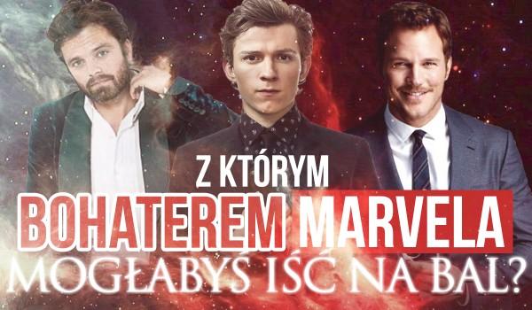 Z którym bohaterem Marvela mogłabyś iść na bal?