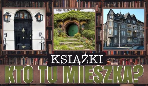 Kto tu mieszka? Książki!