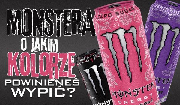 Wybierz kilka zdjęć i dowiedz się, którego Monstera powinieneś wypić!