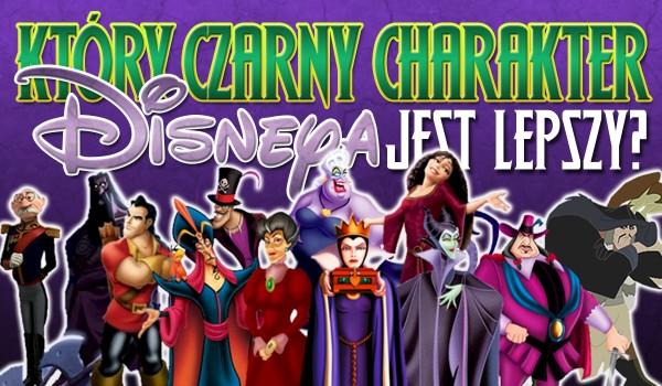 Który czarny charakter Disneya jest lepszy? Głosowanie!
