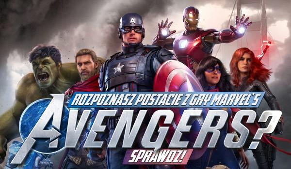 """Rozpoznasz wszystkie postacie z gry """"Marvel's Avengers""""?"""