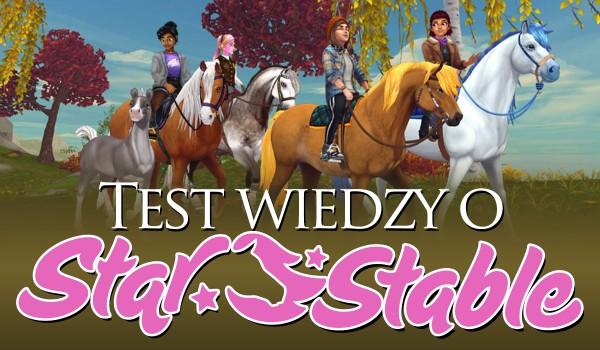 Test wiedzy na temat Star Stable Online!