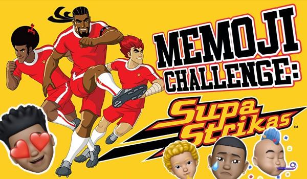 Memoji Challenge: Supa Strikas: Piłkarskie rozgrywki!