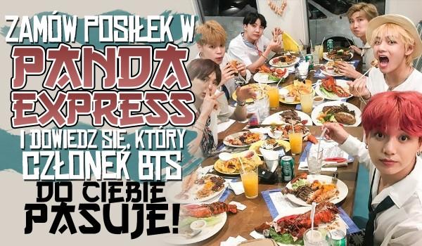 Zamów posiłek w Panda Express i przekonaj się, który członek BTS do Ciebie pasuje!
