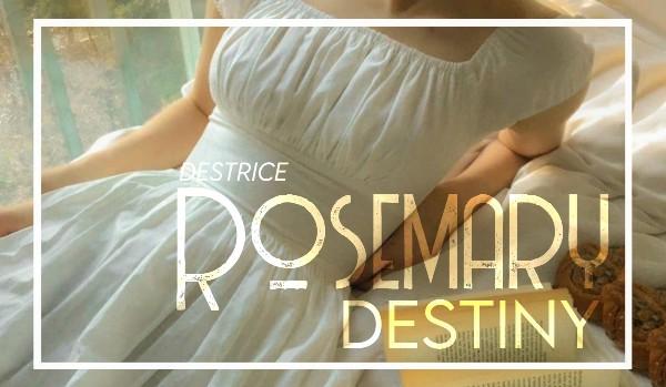 rosemary destiny; 01. tajemnicze malowidła