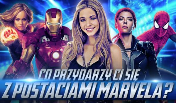 Co przydarzy Ci się z postaciami Marvela?