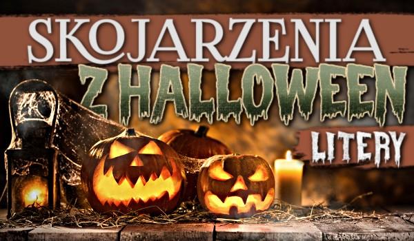 Skojarzenia z Halloween – Litery