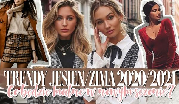 Trendy jesień-zima 2020/2021. Co będzie modne w nowym sezonie?