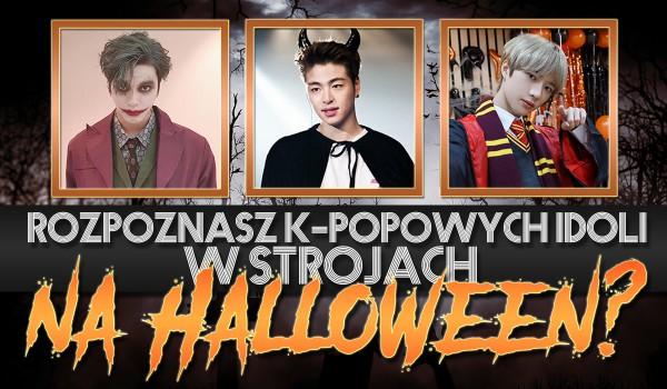 Czy rozpoznasz tych k-popowych idoli w strojach na Halloween?